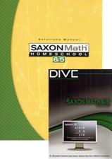 Saxon  Math 65 Home Study Kit & DIVE Bundle