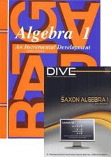 Saxon Algebra 1 Set & DIVE Bundle