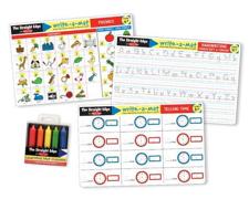 Write a Mat Basic Skills Learning Mats Phonics & Time Set