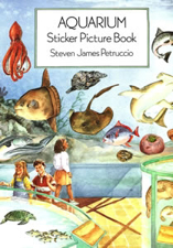 Aquarium Sticker Picture Book Z