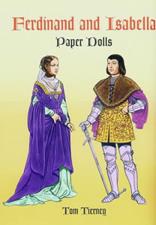Ferdinand and Isabella Paper Dolls