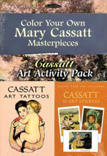 Cassatt Art Activity Pack Z