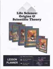 Life Science: Origins & Scientific Theory - 7 Piece Master Books Curriculum Package