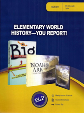 Elementary World History Package -Master Books Curriculum Z
