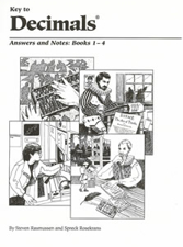 Key to Decimals Answer Keys for Books