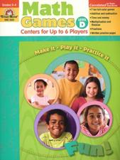 Math Games Level D Grade 3-4 Z