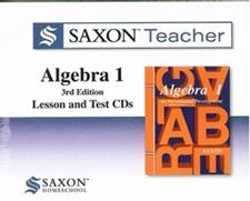Saxon Teacher DVDs - Algebra