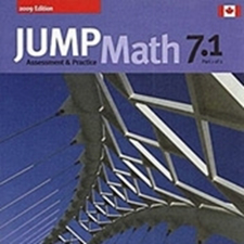 Jump Math Curriculum for Junior High